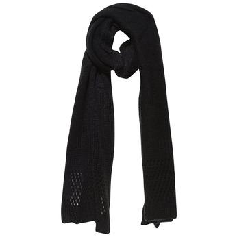 Pletený šál bata, čierna, 909-6374 - 13