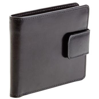 Pánska kožená peňaženka bata, čierna, 944-6145 - 13