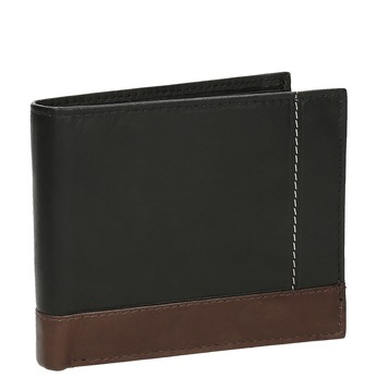 Pánská kožená peňaženka bata, čierna, 944-6149 - 13