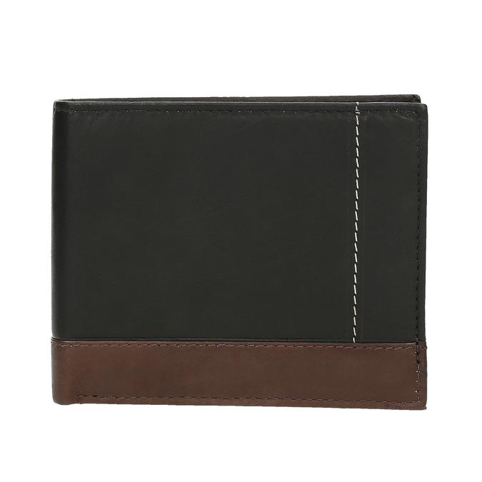 Pánská kožená peňaženka bata, čierna, 944-6149 - 26