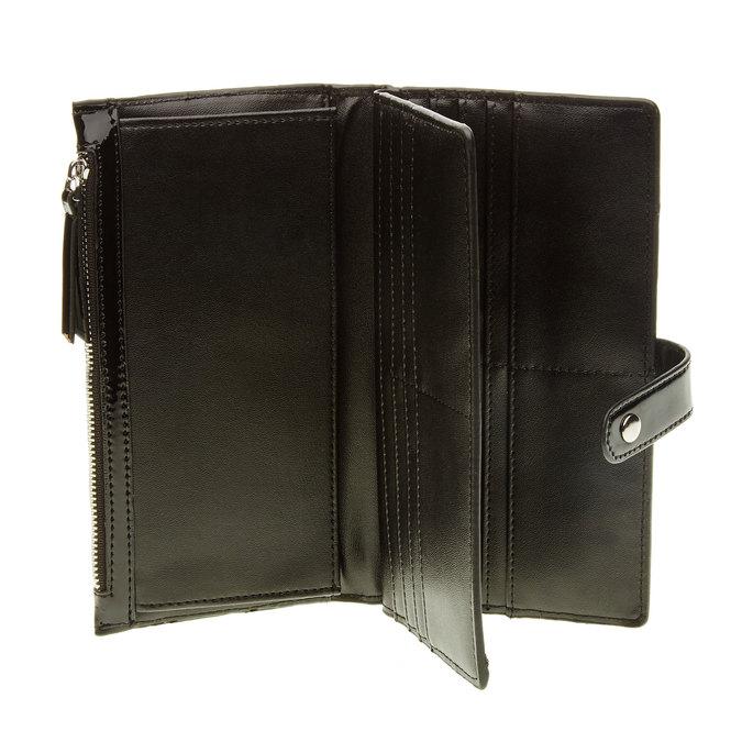 Dámská čierna peňaženka bata, čierna, 941-6129 - 16