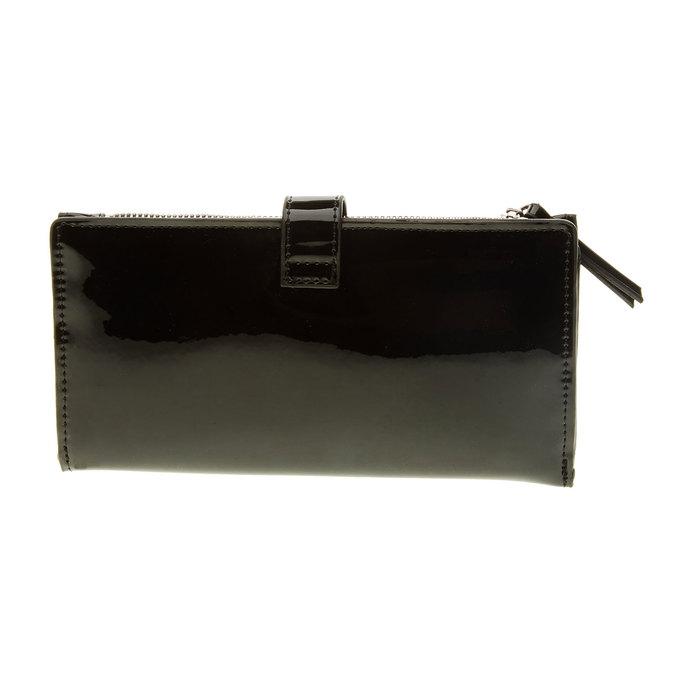 Dámská čierna peňaženka bata, čierna, 941-6129 - 26