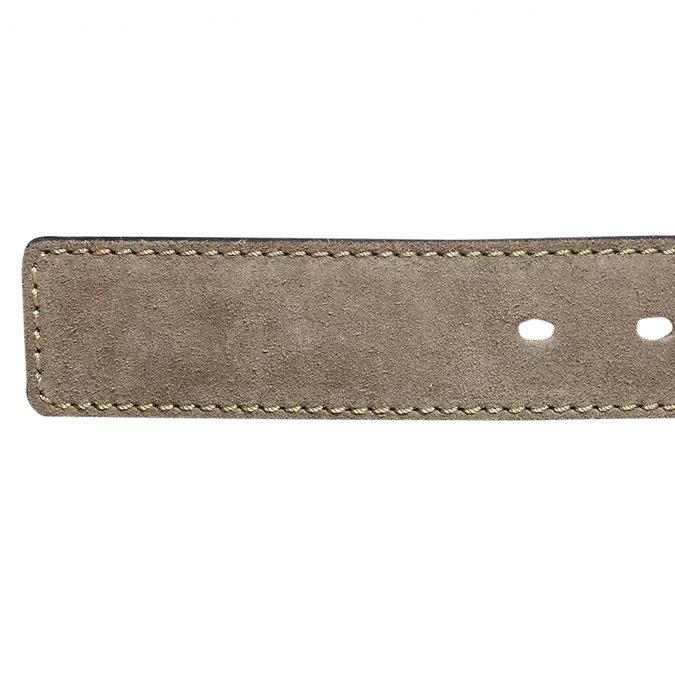 Pánsky kožený opasok bata, béžová, 953-8106 - 16