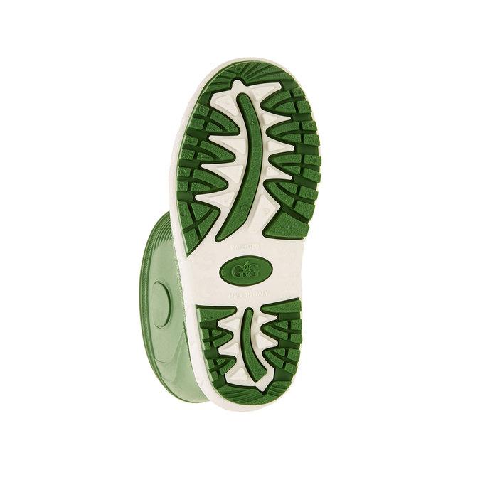 Detské gumáky mini-b, zelená, 392-7101 - 26