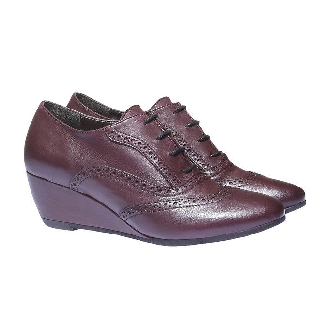 Dámska členková obuv bata, červená, 624-5142 - 26
