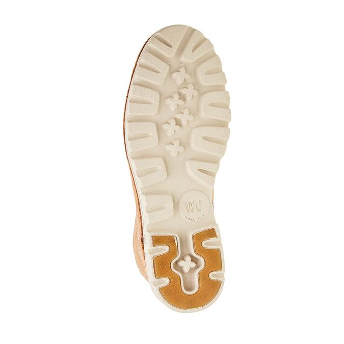 Kožené členkové topánky weinbrenner, hnedá, 594-3531 - 26
