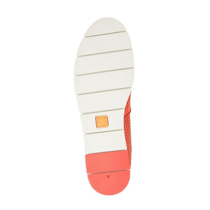 Dámske Slip on s pleteným vzorom flexible, červená, 515-5203 - 26