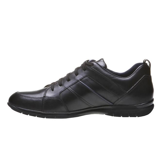 Kožené tenisky bata, čierna, 824-6351 - 15