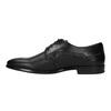 Pánske kožené poltopánky bata, čierna, 824-6709 - 26