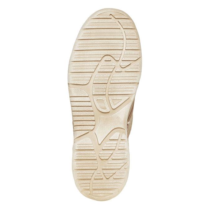 Kožená členková obuv weinbrenner, béžová, 896-2442 - 26
