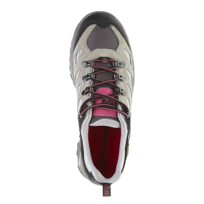 Kožené Outdoor topánky, šedá, 543-2208 - 19
