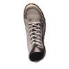 Dizajnová kožená obuv weinbrenner, šedá, hnedá, 544-2145 - 19