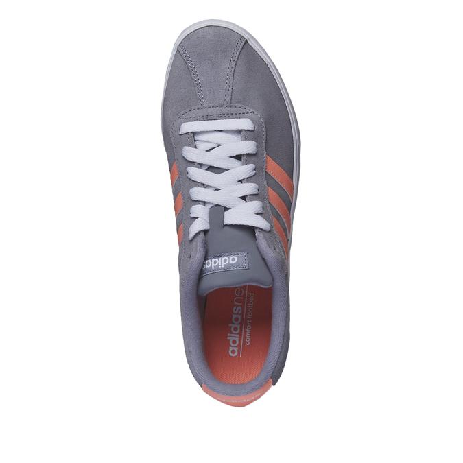 Ležérne kožené tenisky adidas, šedá, 503-2685 - 19