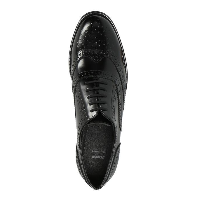 Dámske poltopánky bata, čierna, 524-6600 - 19