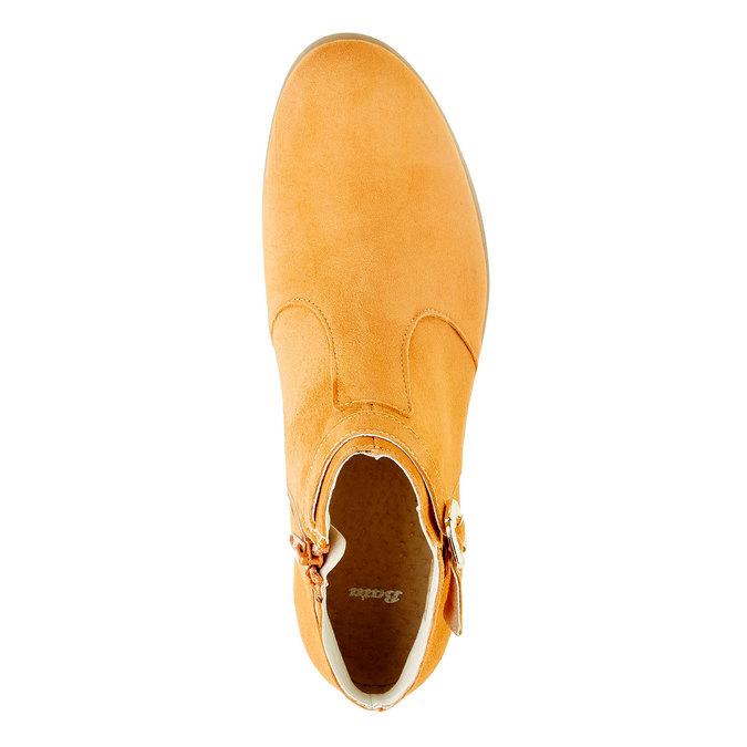 Členkové čižmy z brúsenej kože bata, hnedá, 593-3402 - 19