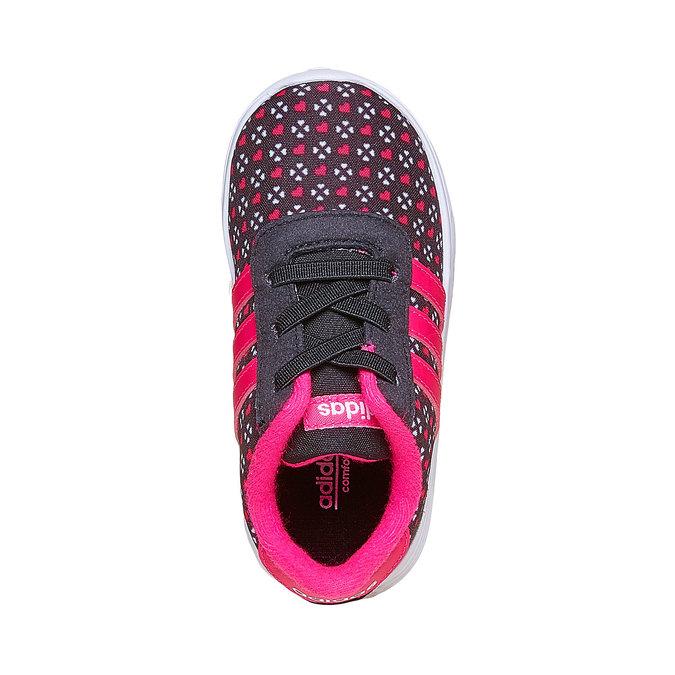 Dievčenské tenisky adidas, čierna, 109-6141 - 19