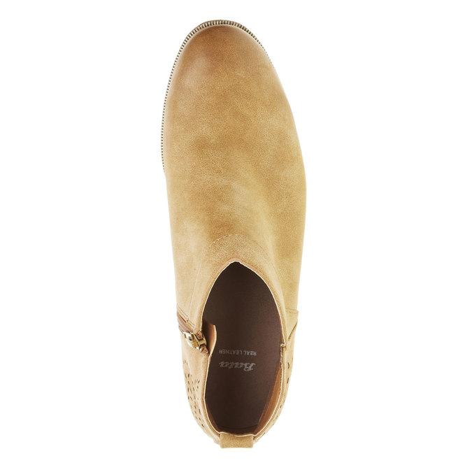 Jarné členkové čižmy bata, hnedá, 591-4100 - 19