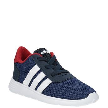 Detské tenisky v športovom dizajne adidas, modrá, 109-9141 - 13