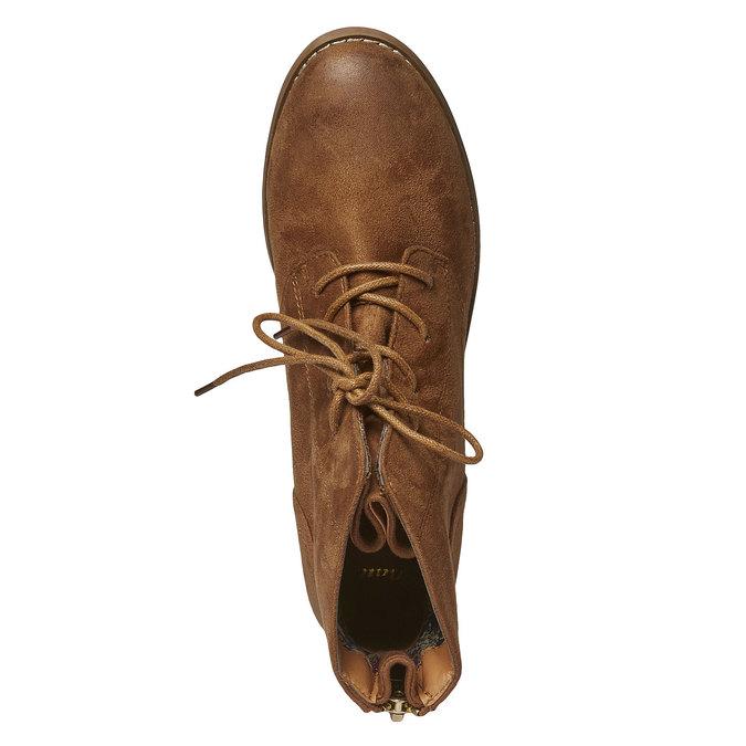 Členkové šnurovacie topánky bata, hnedá, 599-3493 - 19