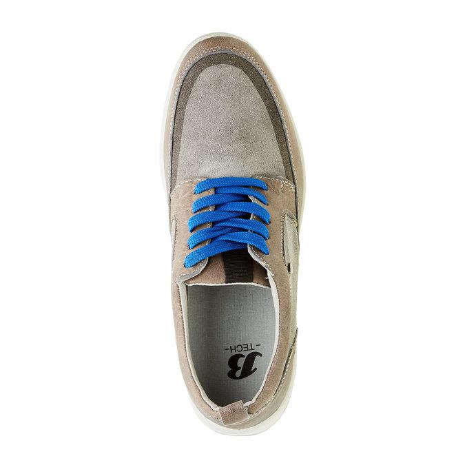 Pánska vycházková obuv, šedá, 843-2631 - 19