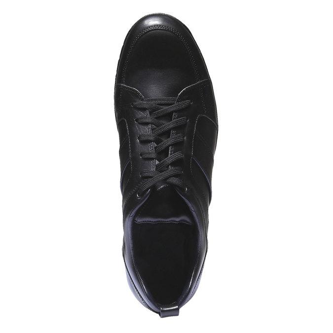 Kožené tenisky bata, čierna, 824-6351 - 19