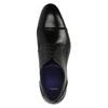 Pánske kožené poltopánky bata, čierna, 824-6710 - 19