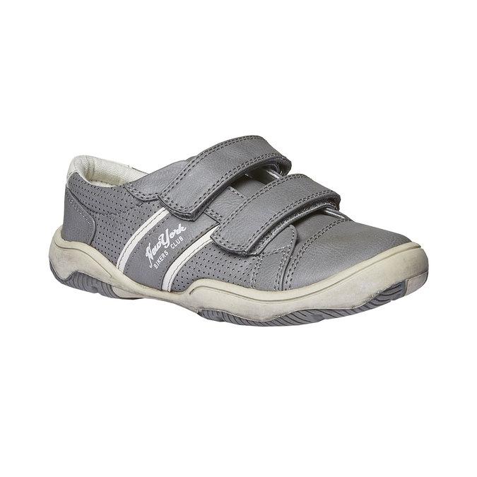 Detské tenisky na suchý zips mini-b, šedá, 311-2214 - 13