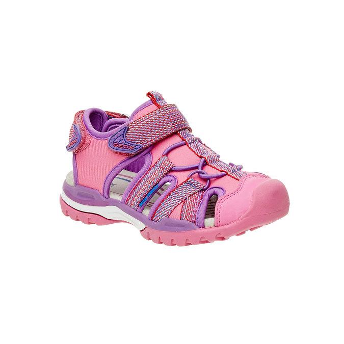 Detské športové sandále geox, červená, 361-5102 - 13