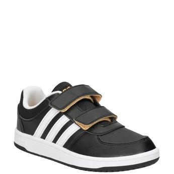 Detské tenisky na suchý zips adidas, čierna, 301-6167 - 13