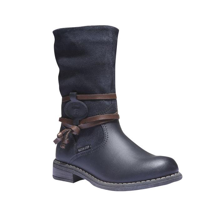 Detská obuv mini-b, modrá, 394-9100 - 13