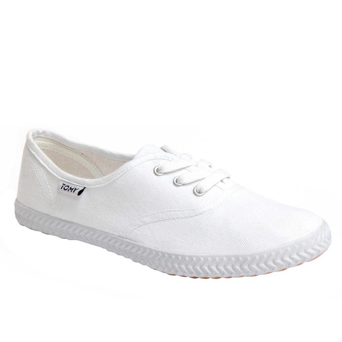 Plátenné tenisky tomy-takkies, biela, 519-1101 - 13