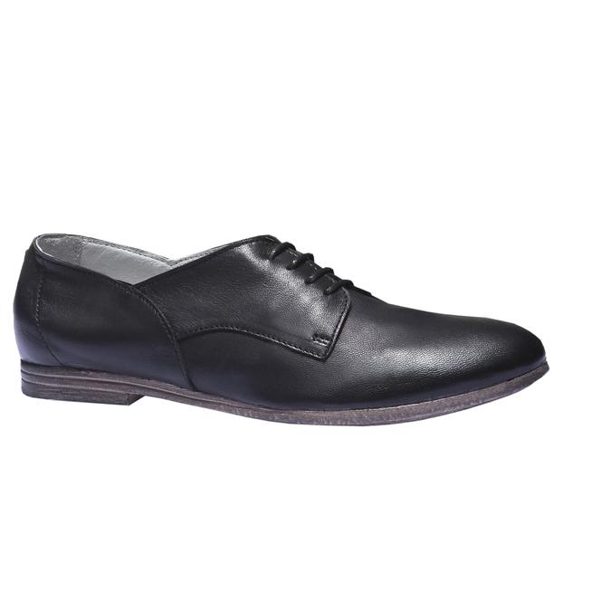 Kožené poltopánky bata, čierna, 524-6169 - 13