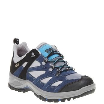 Kožené Outdoor topánky, modrá, 543-9208 - 13
