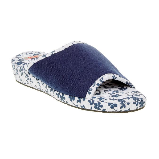 Dámska domáca obuv, modrá, 579-9246 - 13