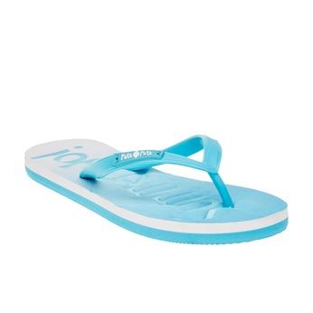 Dámske žabky pata-pata, modrá, 581-9601 - 13