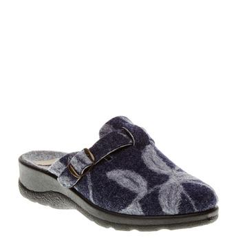 Domáca obuv bata, modrá, 579-9221 - 13