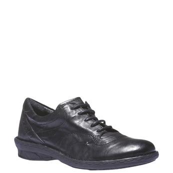 Ležérne kožené tenisky bata, čierna, 624-6111 - 13