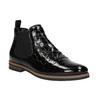 Kožené Chelsea boots bata, čierna, 598-6600 - 13