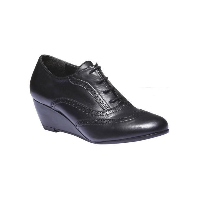 Dámska členková obuv bata, čierna, 624-6142 - 13