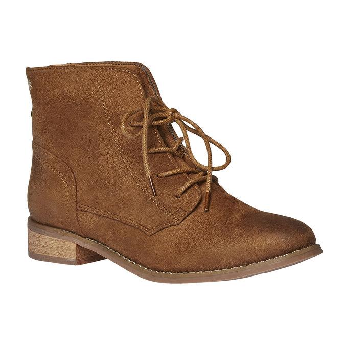Členkové šnurovacie topánky bata, hnedá, 599-3493 - 13