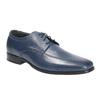 Pánske kožené poltopánky bata, modrá, 824-9669 - 13