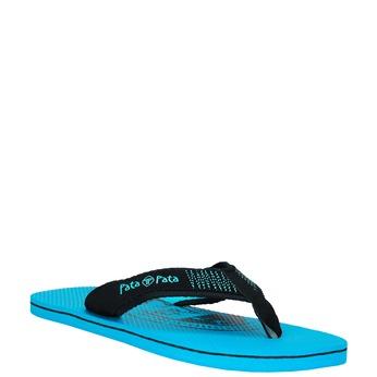 Pánske žabky pata-pata, modrá, 881-9601 - 13