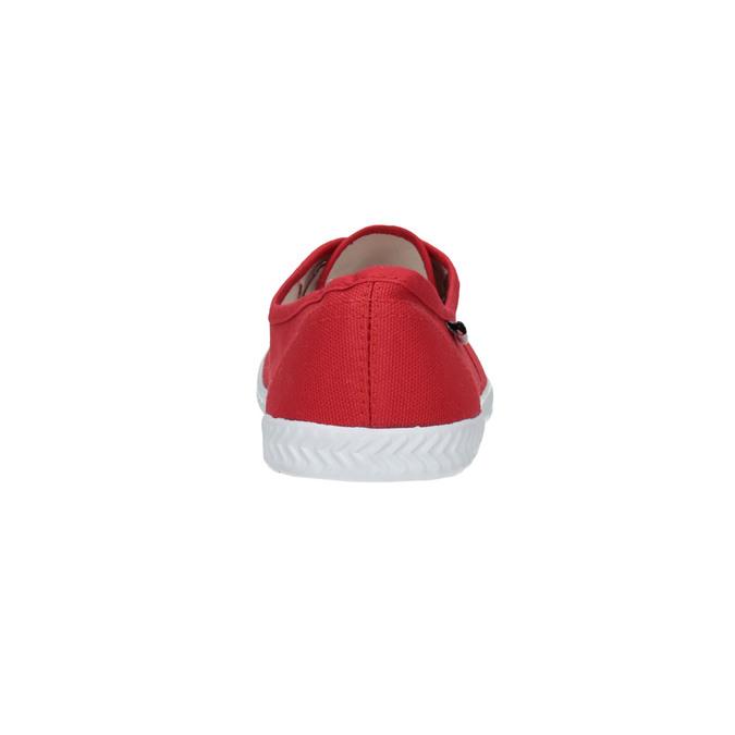 Červené dámske tenisky tomy-takkies, červená, 519-5691 - 17