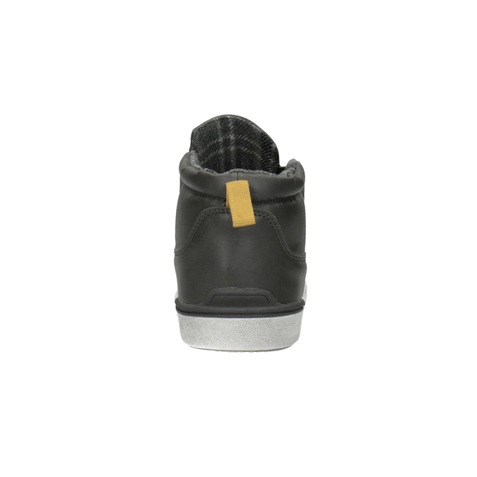 Detská členková obuv v Slip-on štýle north-star, šedá, 411-2603 - 17