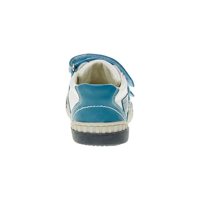 Detské tenisky na suchý zips bubblegummer, modrá, 113-9145 - 17