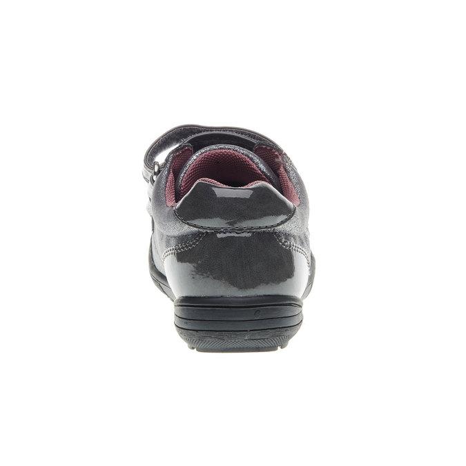 Dievčenské tenisky na suchý zips mini-b, šedá, 229-2140 - 17