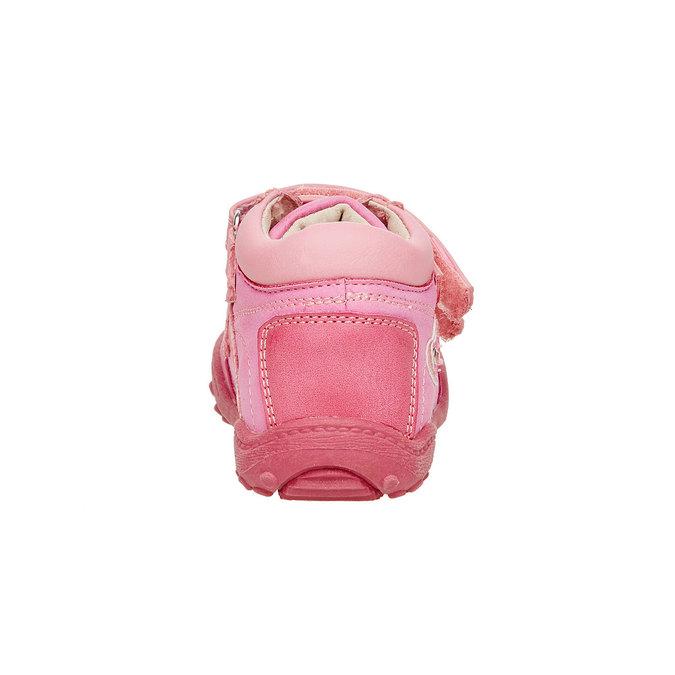 Dievčenské členkové topánky mini-b, ružová, 121-5104 - 17