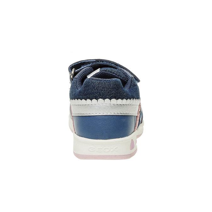Detské priedušné tenisky geox, modrá, 129-9102 - 17