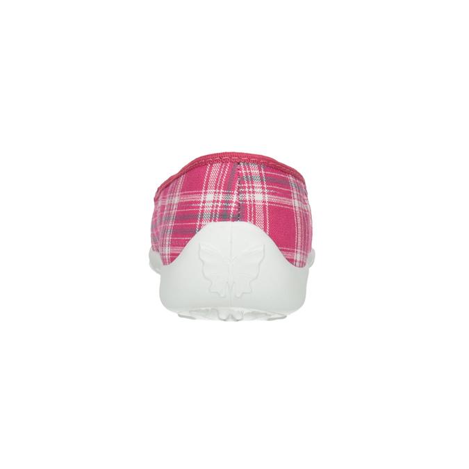 Detská domáca obuv mini-b, ružová, 379-5207 - 17