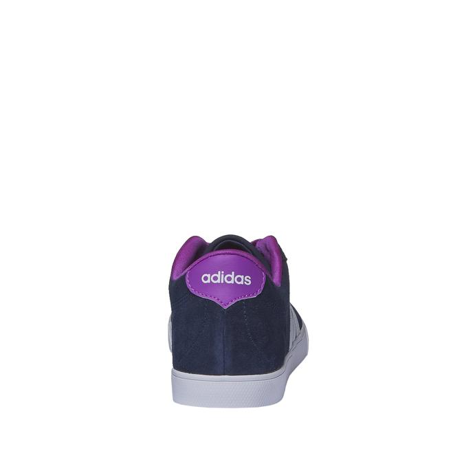 Ležérne kožené tenisky adidas, modrá, 503-9685 - 17